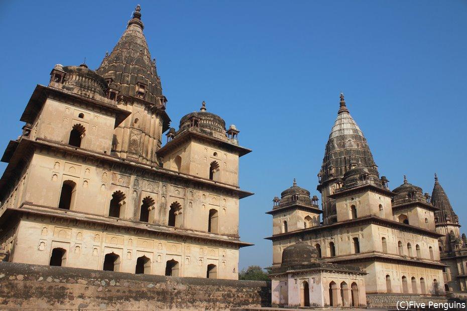 オルチャ遺跡・・インドは知られていない遺跡が数多くある