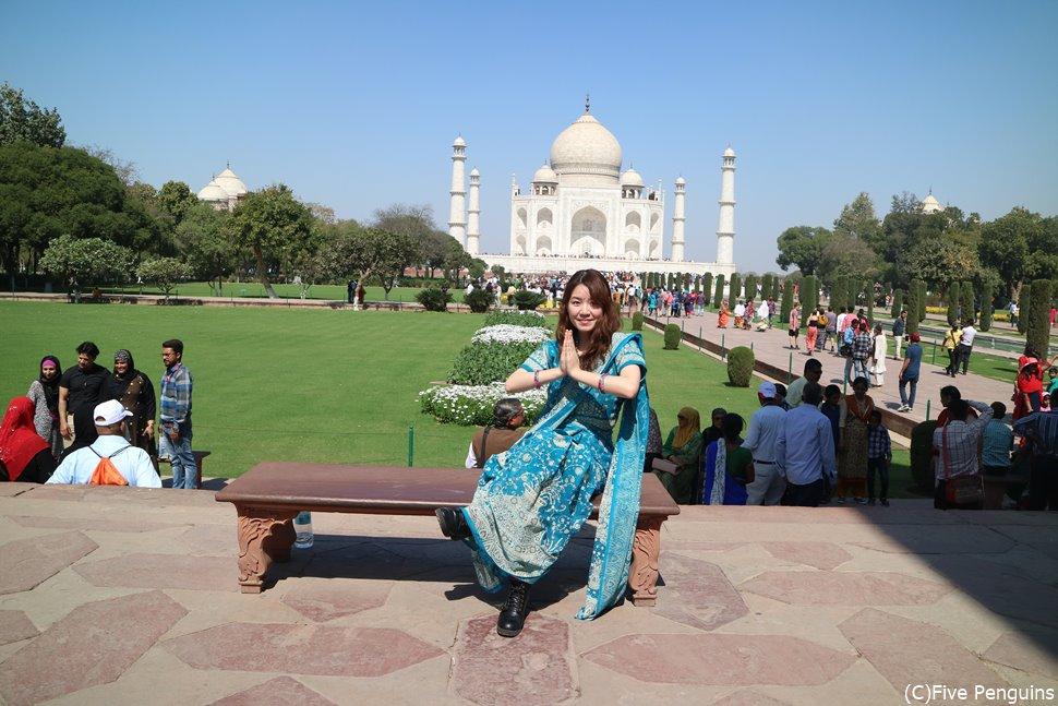 インドに行ったらサリーはチャレンジしてみたい♪
