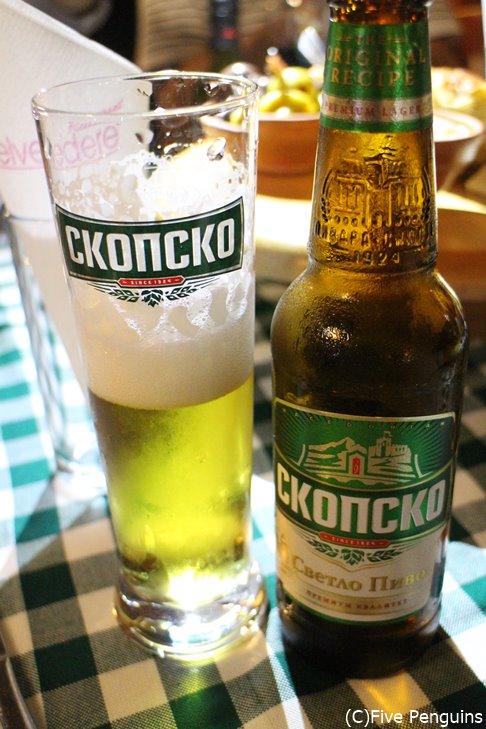 マケドニアの定番ビール「スコプスコ」