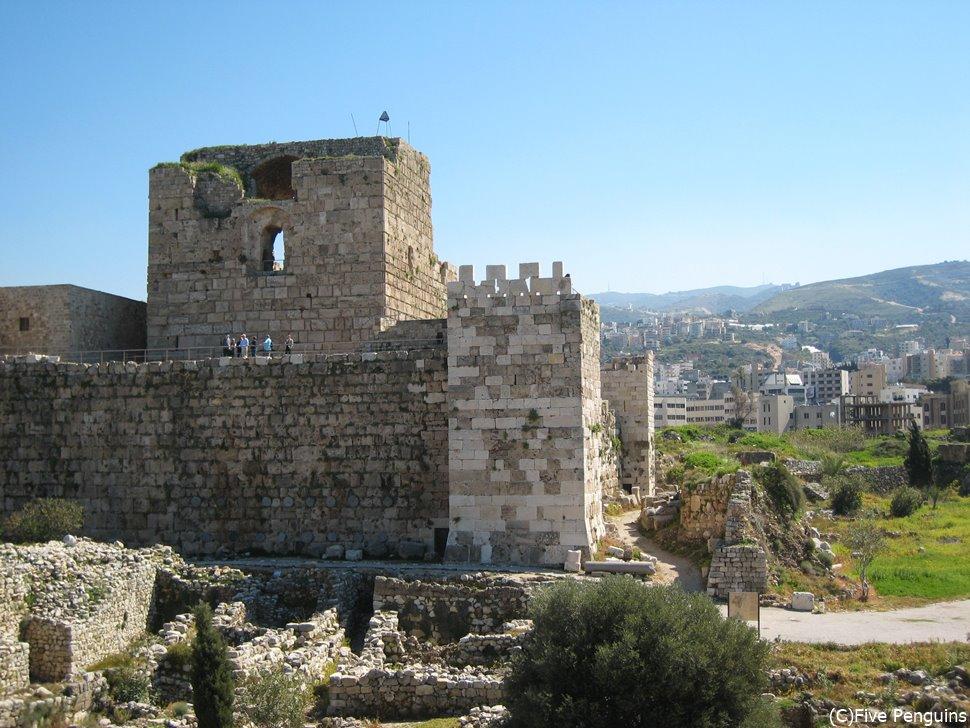 これは十字軍時代の城塞