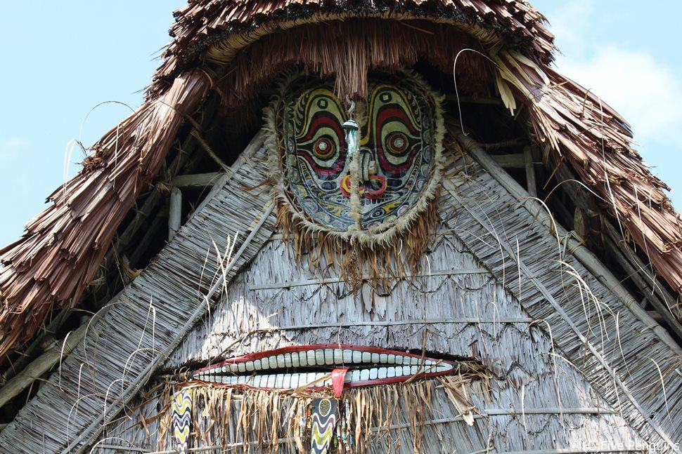 チャンブリー村のハウスタンバラン(精霊の家)