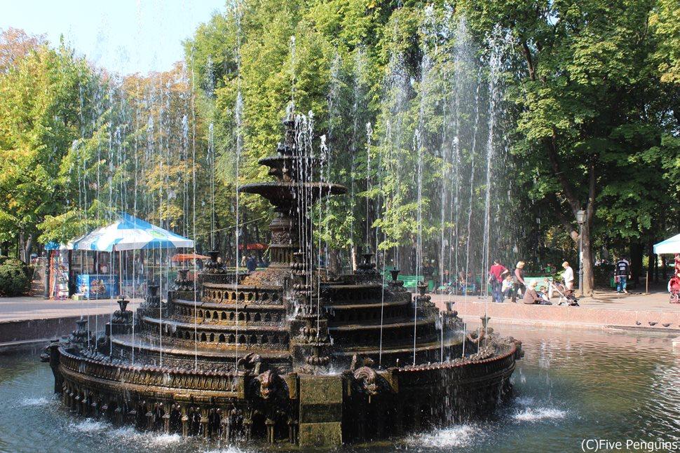 緑が多く気持ちいい、シュテファン・チェル・マレ公園