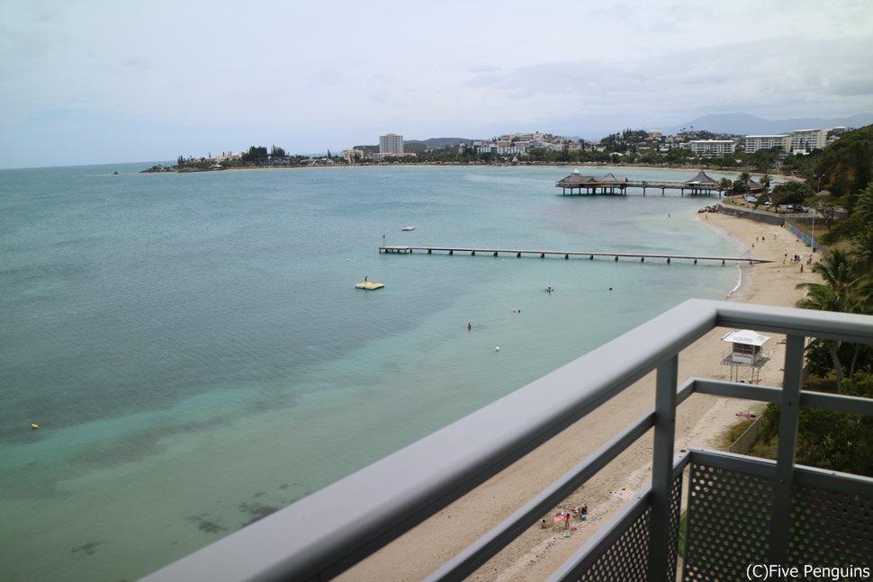 ビーチフロントなので海はすぐ目の前!