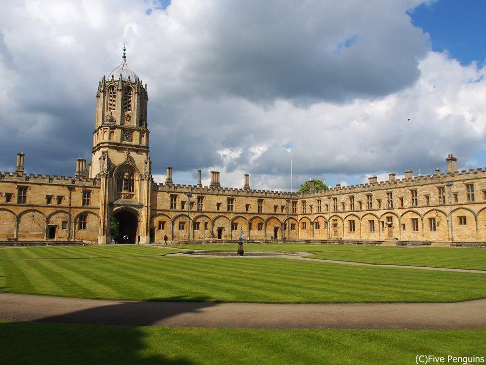 大学の中庭(オックスフォード)