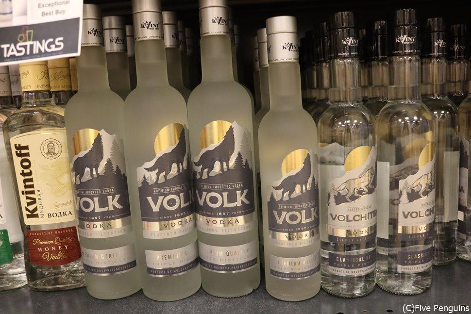 モルドバといえばワインだけど、沿ドニエストルではやはりウォッカ