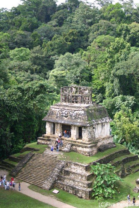 パレンケ遺跡 太陽の神殿