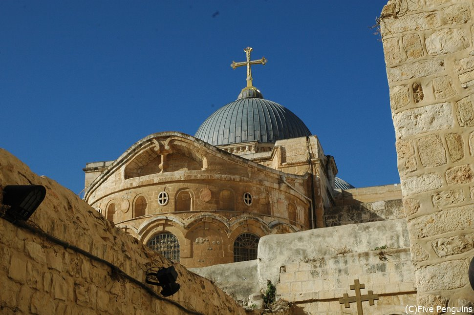 イエスのお墓があるとされる聖墳墓教会