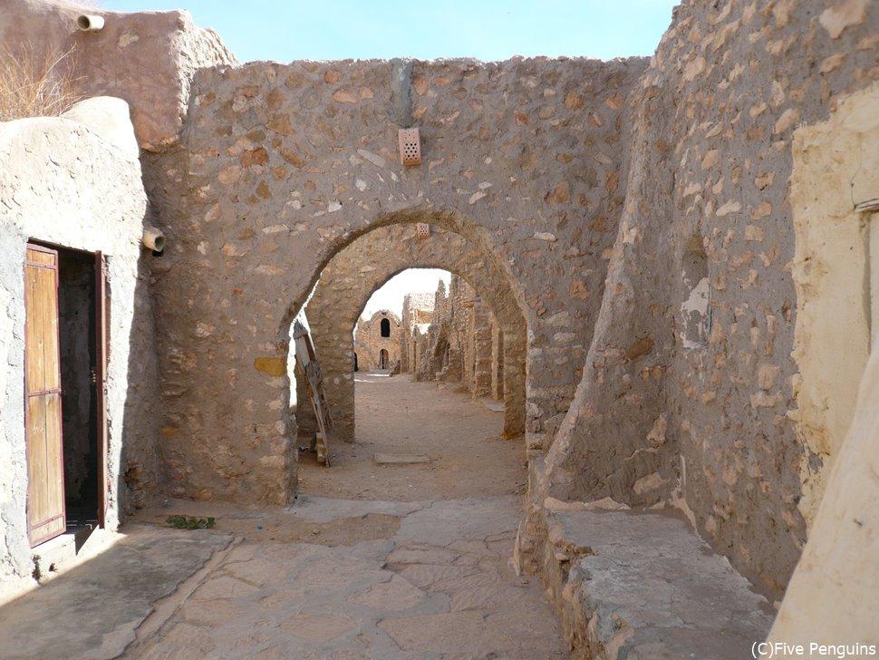 ベルベル人が造った街、クサール・ハッダダ
