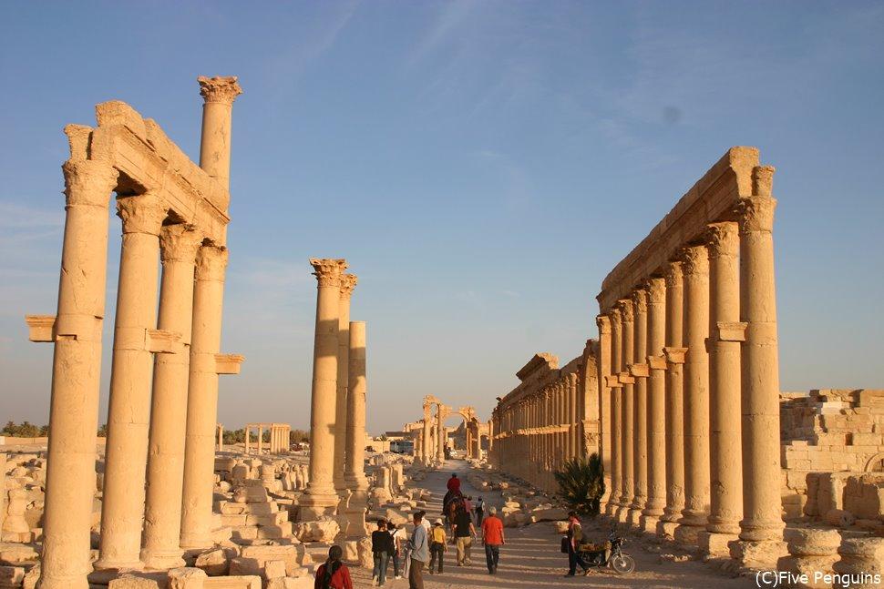 「イスラム国」に破壊されてしまったパルミラ遺跡