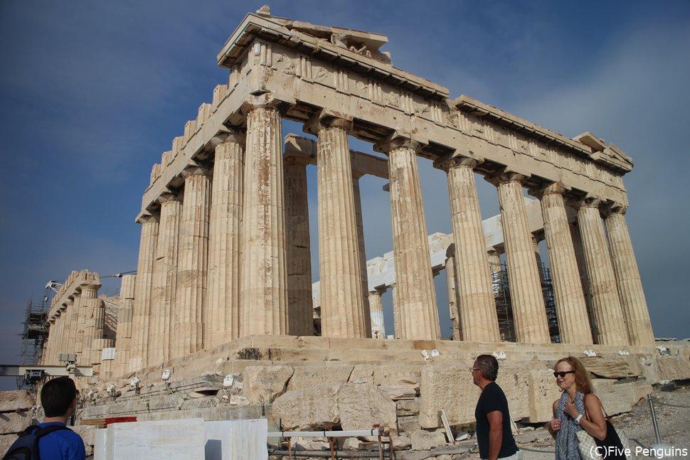 古代ギリシャの象徴 アクロポリスのパルテノン神殿
