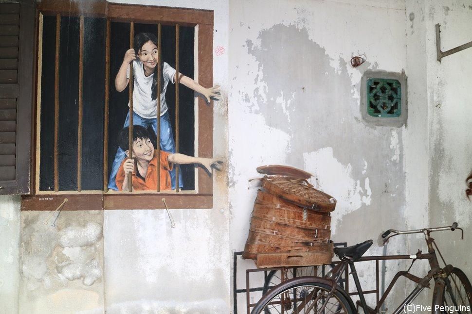 ペナン島ではストリートアートもおもしろい!