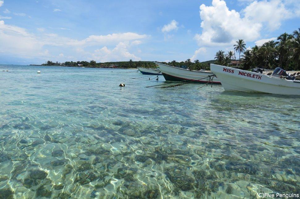 カリブの楽園「コーン・アイランド」