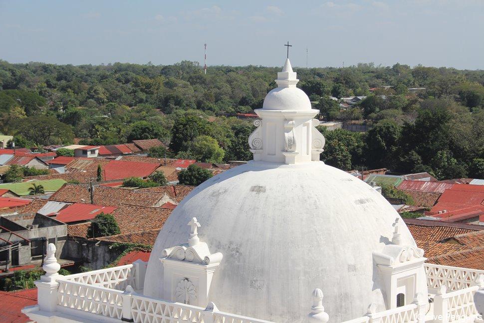 レオン大聖堂とレオン新市街(レオン)