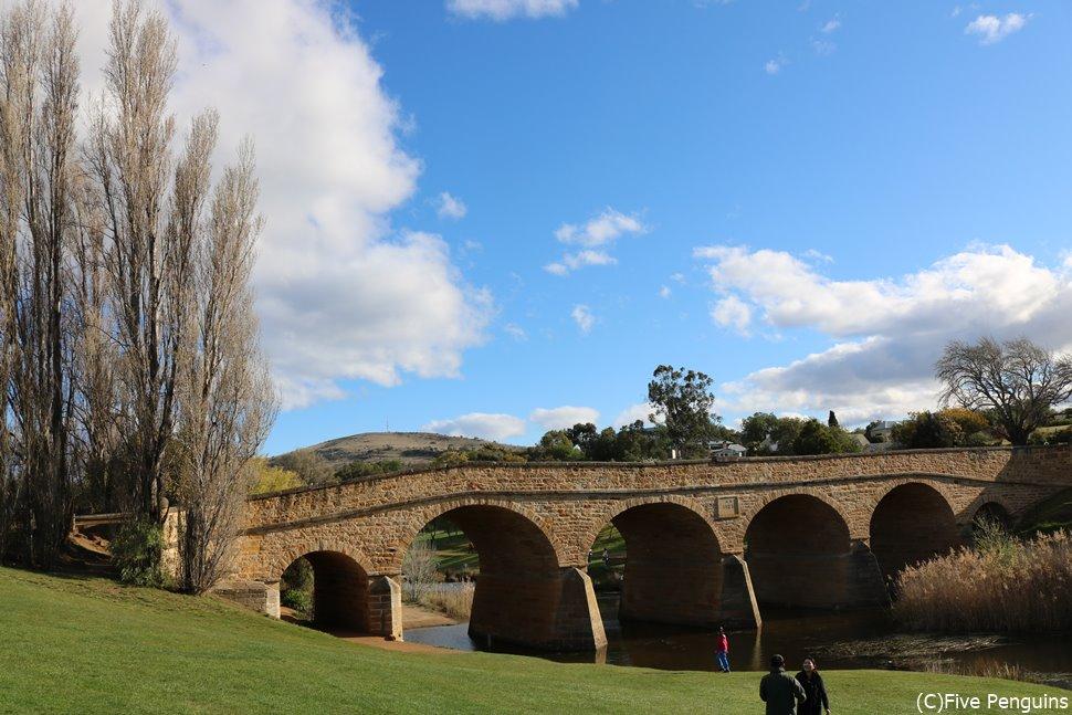 オーストラリア最古の石橋 リッチモンドブリッジ