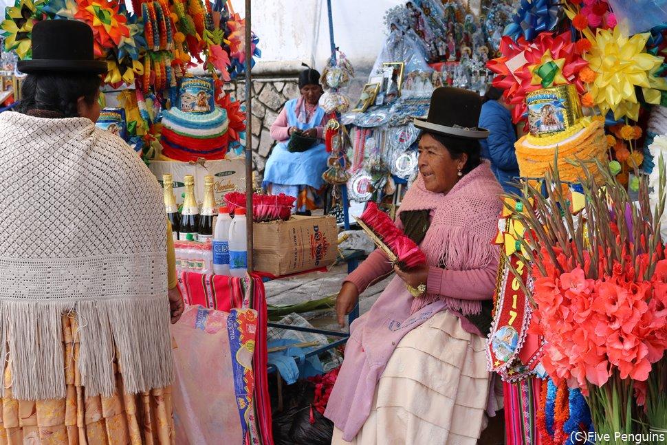 ボリビアのインディヘナ<コパカバーナ>