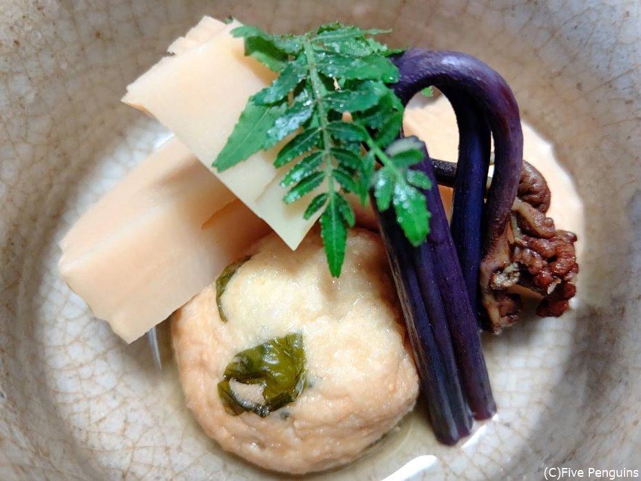 ひろうす、タケノコ、ワラビ…これぞ本物の京料理
