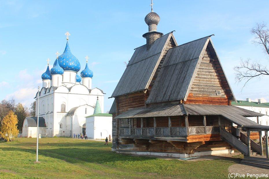 ラジェストヴェンスキー大聖堂とニコーリスカヤ教会