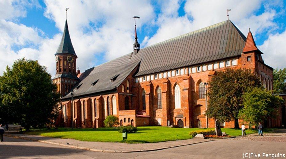 戦禍を免れたカリーニングラード大聖堂