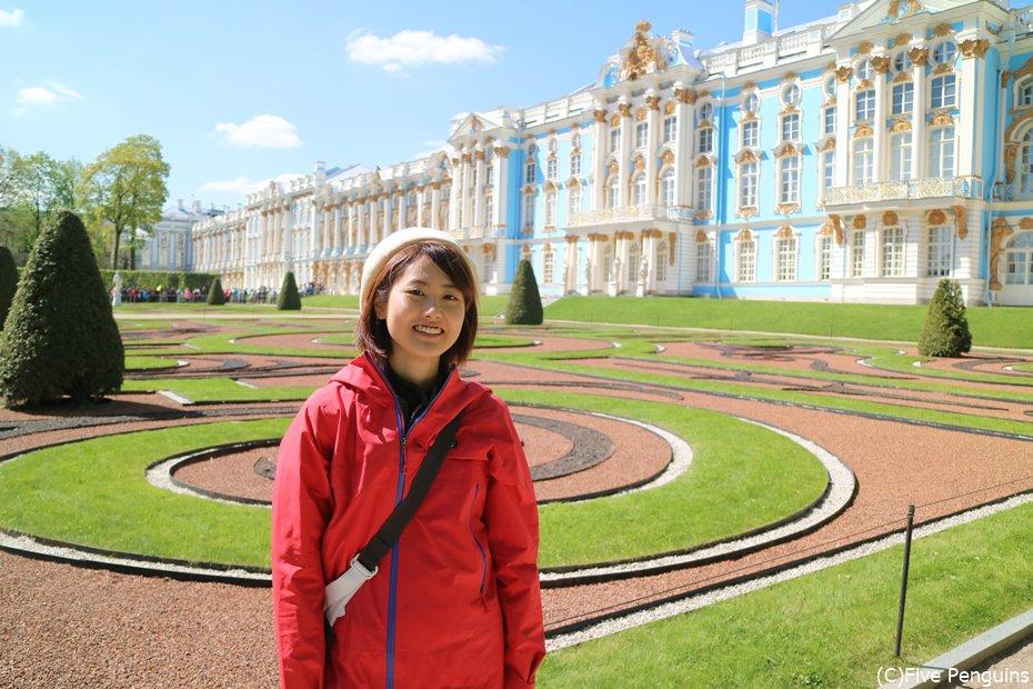 エカテリーナ宮殿の中庭