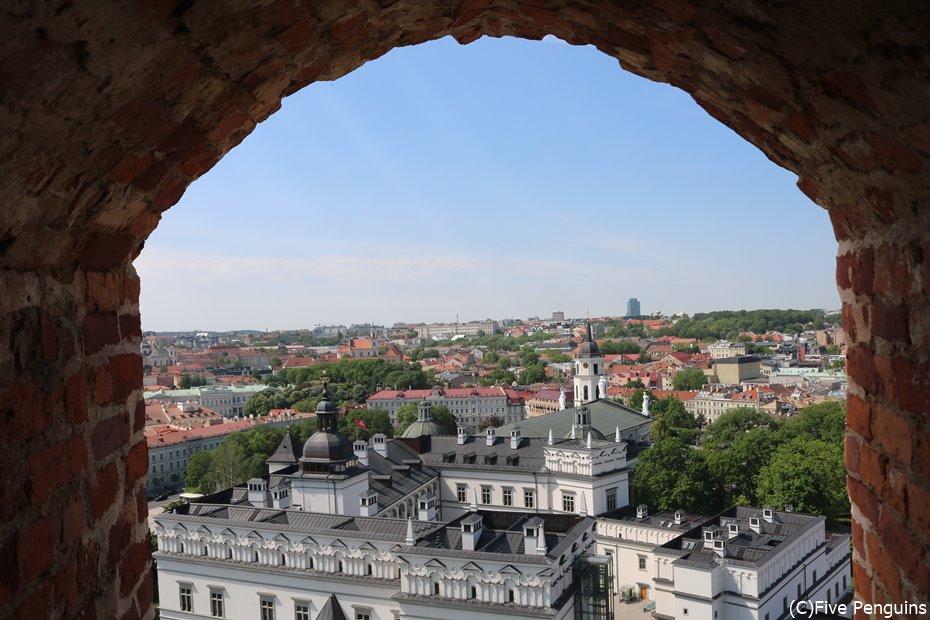 上から眺める旧市街も美しい
