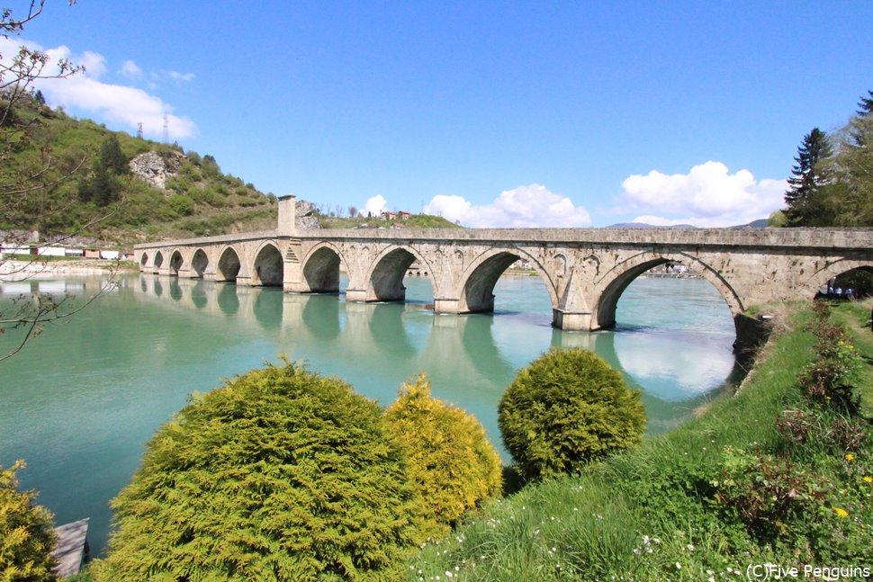 世界遺産メフメット・パシャ・ソコロヴィッチ橋