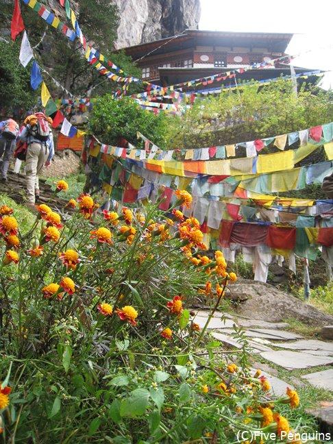標高3000メートルのタクツァン僧院