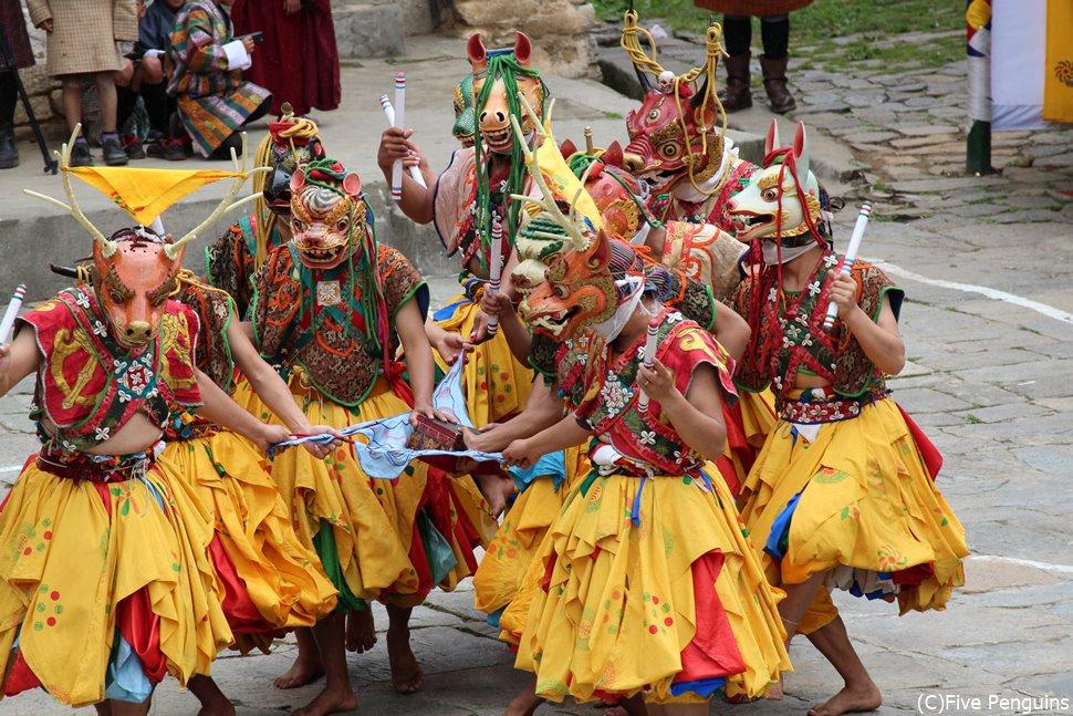 チベット仏教の祭ニマルン・ツェチュ