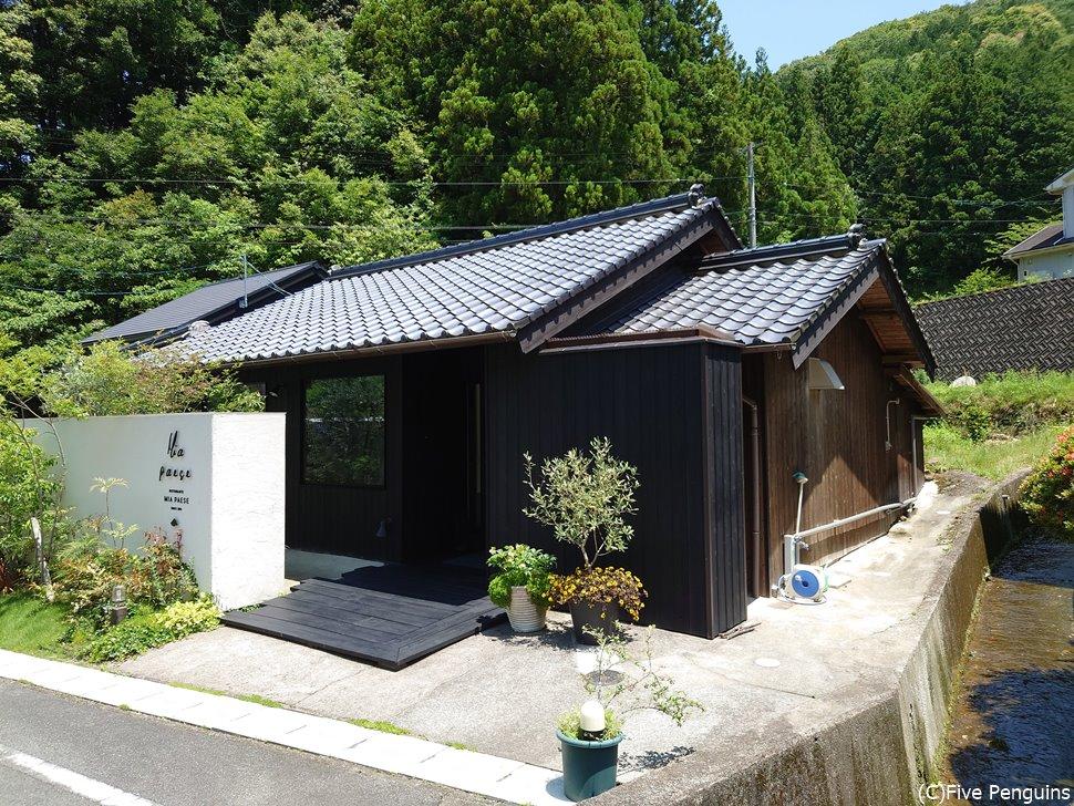 島根県西部の山に囲まれたど田舎にお店はあります
