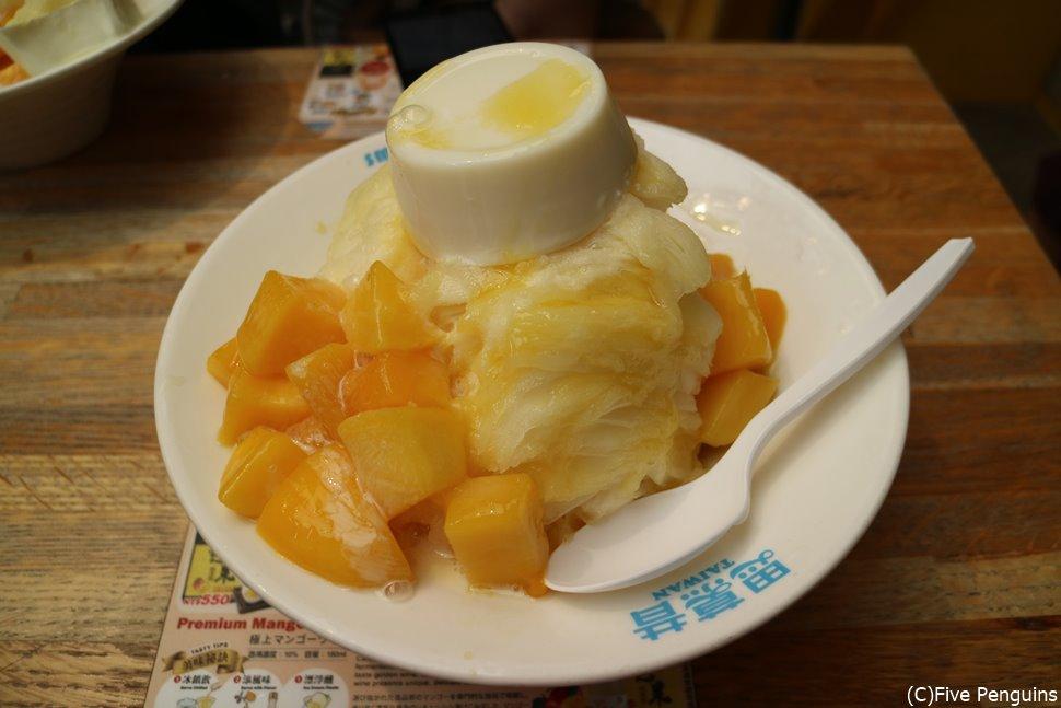 台北で食べたい!マンゴーのかき氷