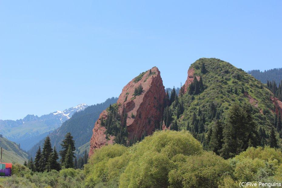 ジェティ・オグズの奇岩