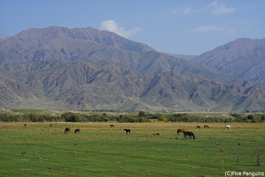 美しい天山山脈
