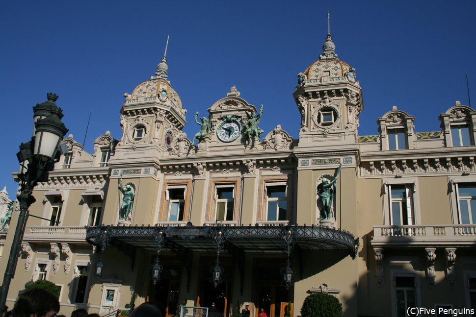 格式あるグランカジノの建物