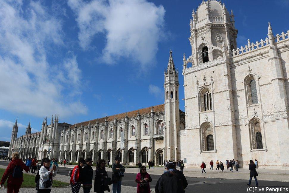 歴史を感じるジェロニモス修道院