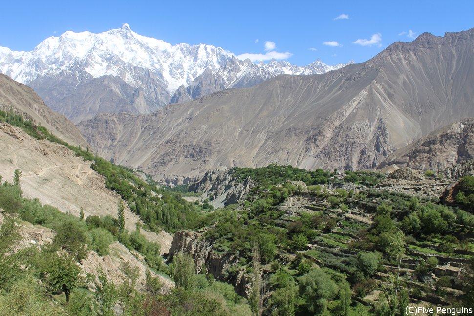 パキスタンのフンザ地方 コロナを忘れさせてくれるような絶景です