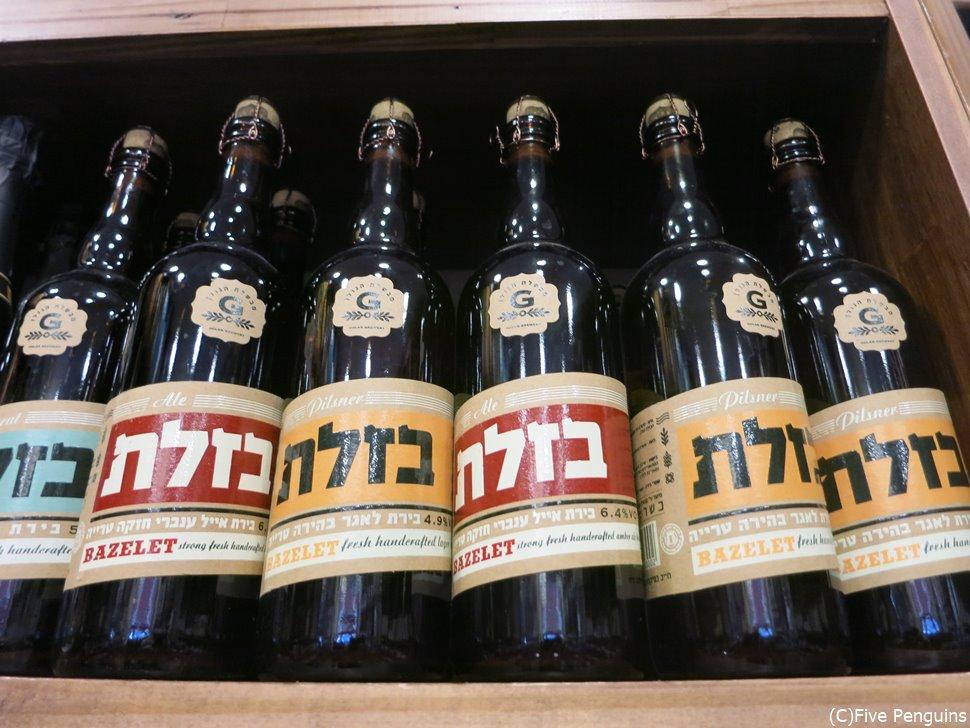 日本語のカタカナみたい!?ヘブライ語で書かれたビール