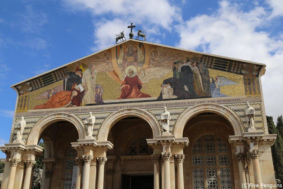イエスが最後の夜を過ごしたとされる万国民の教会