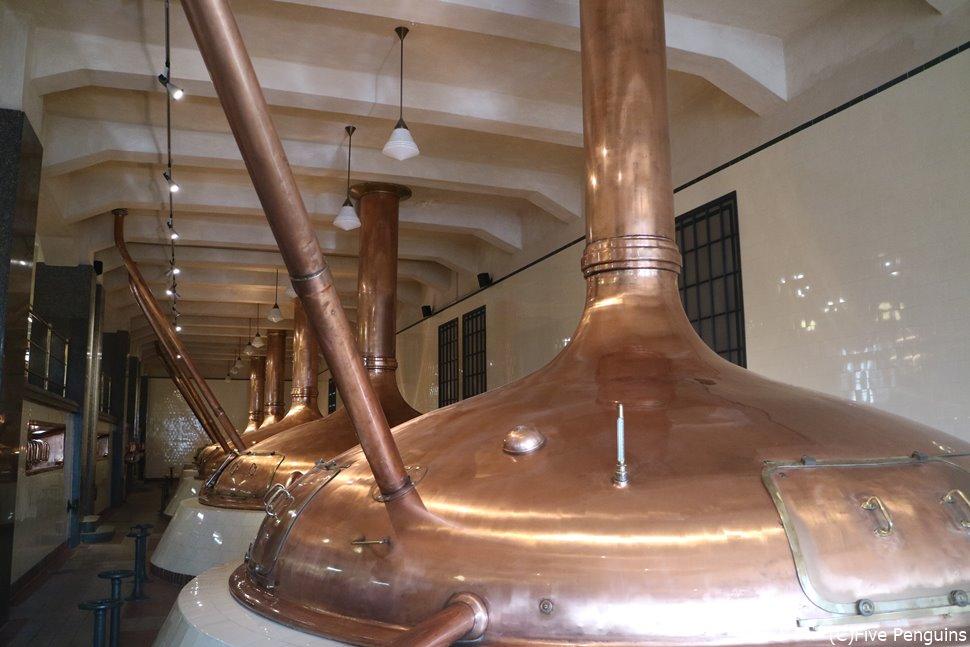 ピルスナーの醸造所!帰国後はチェコのビールで休日を彩りたい