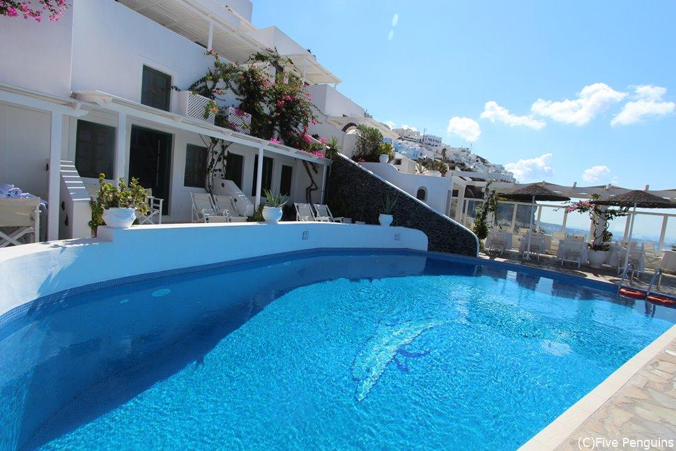 素敵なホテルが多いのも魅力。写真はホテル ダナヴィラス。
