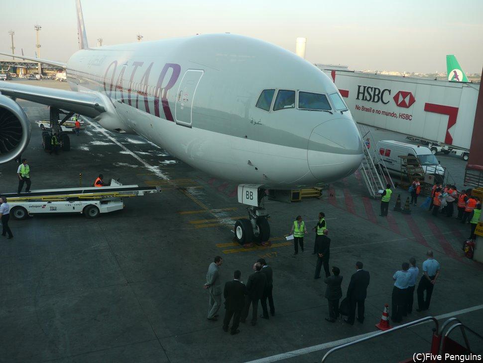 カタール航空でトルコに行く場合はドーハで乗継ぎます。
