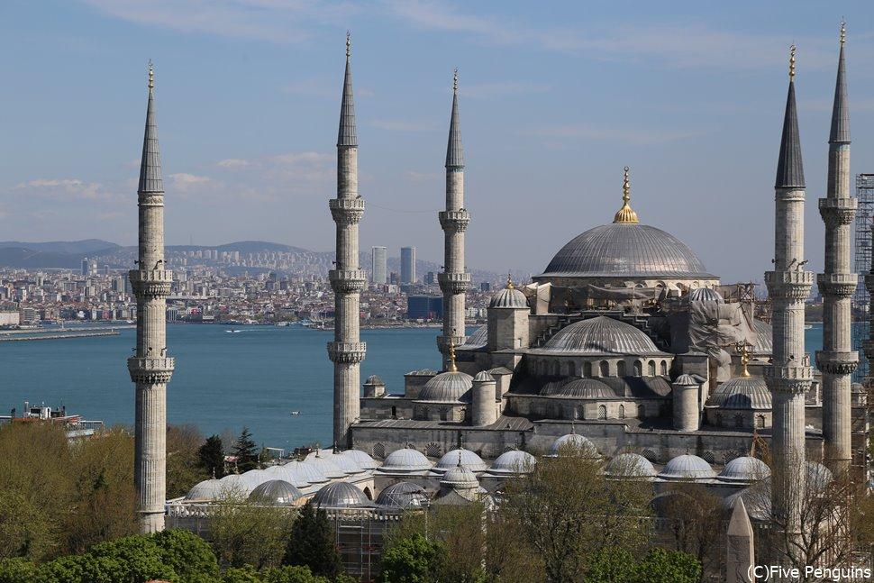 イスタンブールといえば、ブルーモスク