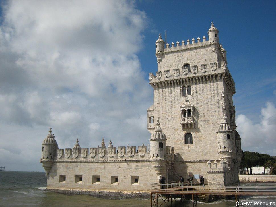 ベレンの塔。この周辺には世界遺産が点在