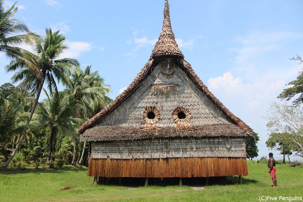 チャンブリー村のハウスタンバラン
