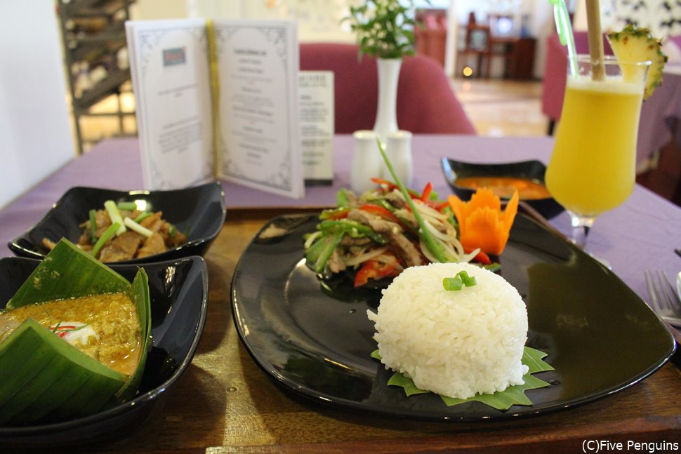 カンボジア料理も美味しくオシャレになりました