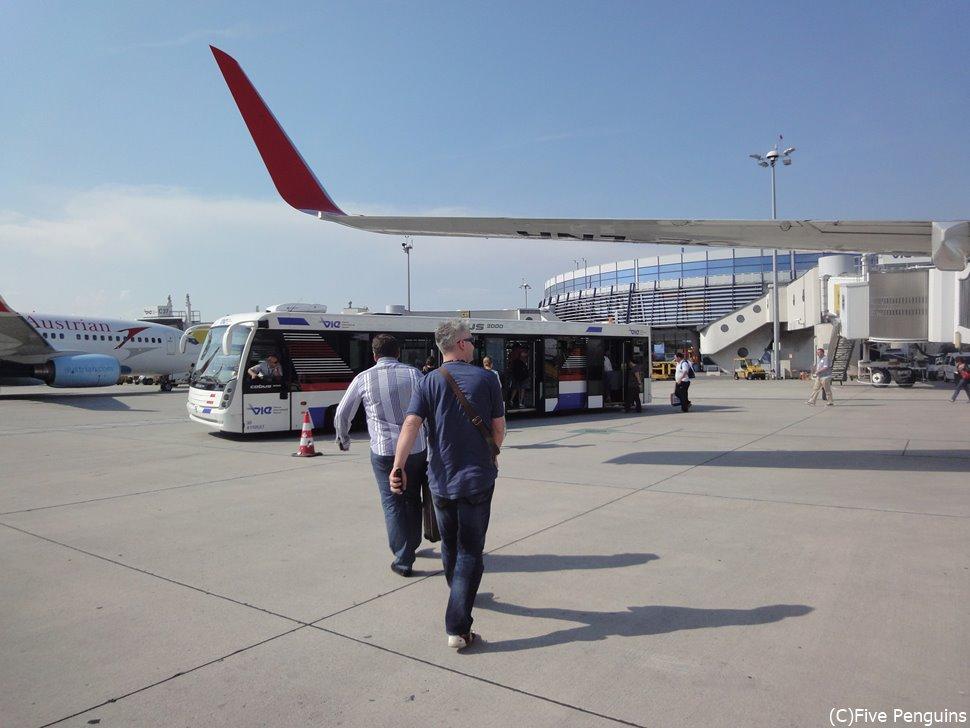オーストリア航空の直行便でらくちん旅