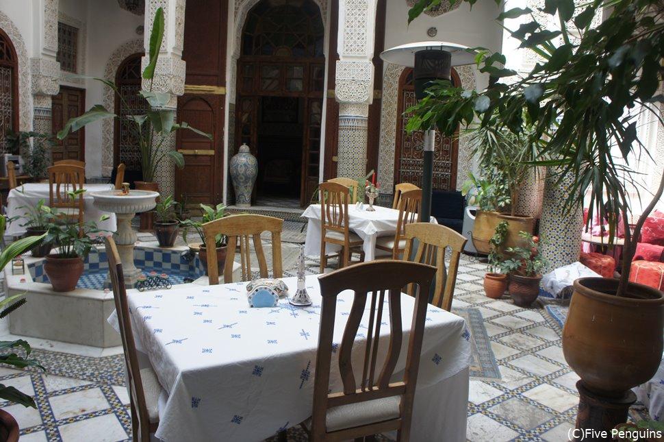 豪華!だけどコスパ抜群なリヤド滞在もモロッコ旅行の醍醐味です。