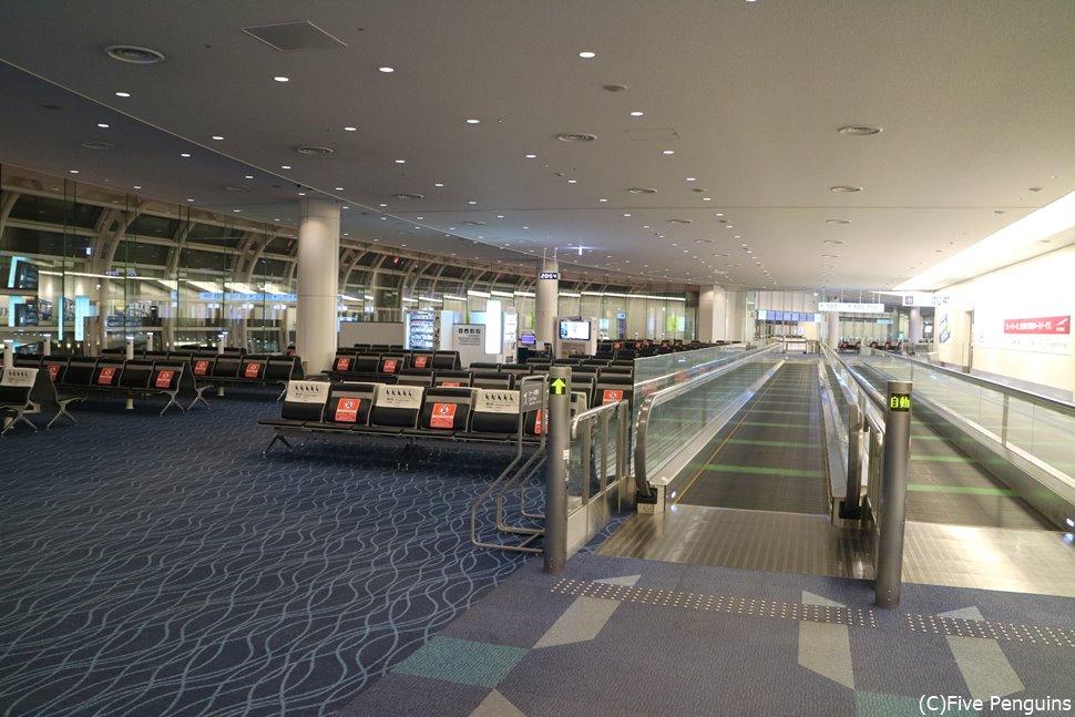 コロナ禍で空いている空港