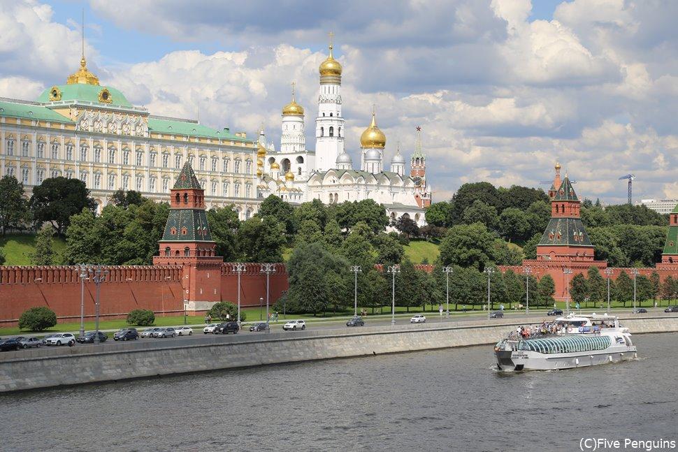 モスクワの美しいクレムリン