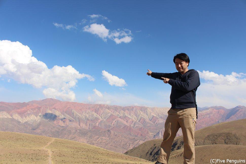 標高の4350m 14色の丘 絶景オルノカル(ウマワカ近郊)