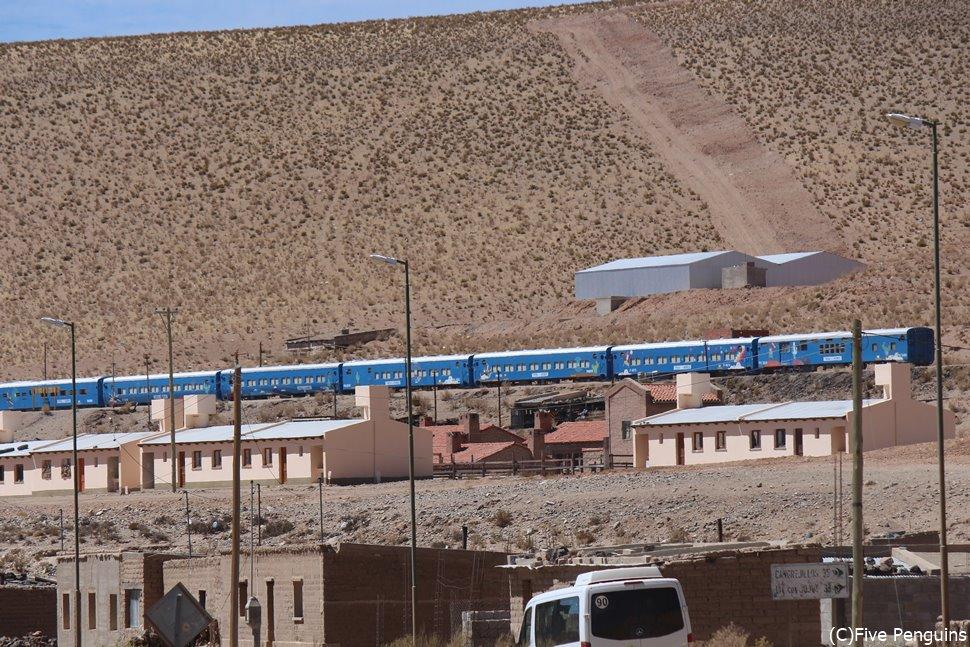 雲の列車(サンアントニオデコブレス)