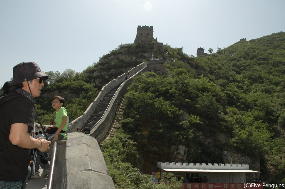 万里の長城(北京) 中国の入国審査はいい噂を聞かないのでご注意を…